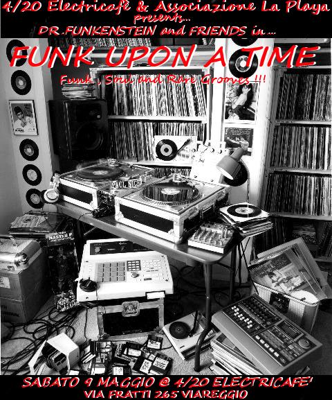 Funk upon a time, presso 4/20 ElectricCafè